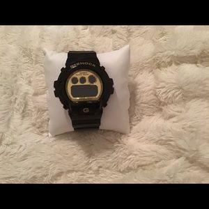 Black G-shock watch